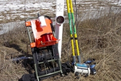 Cathodic protection survey gear