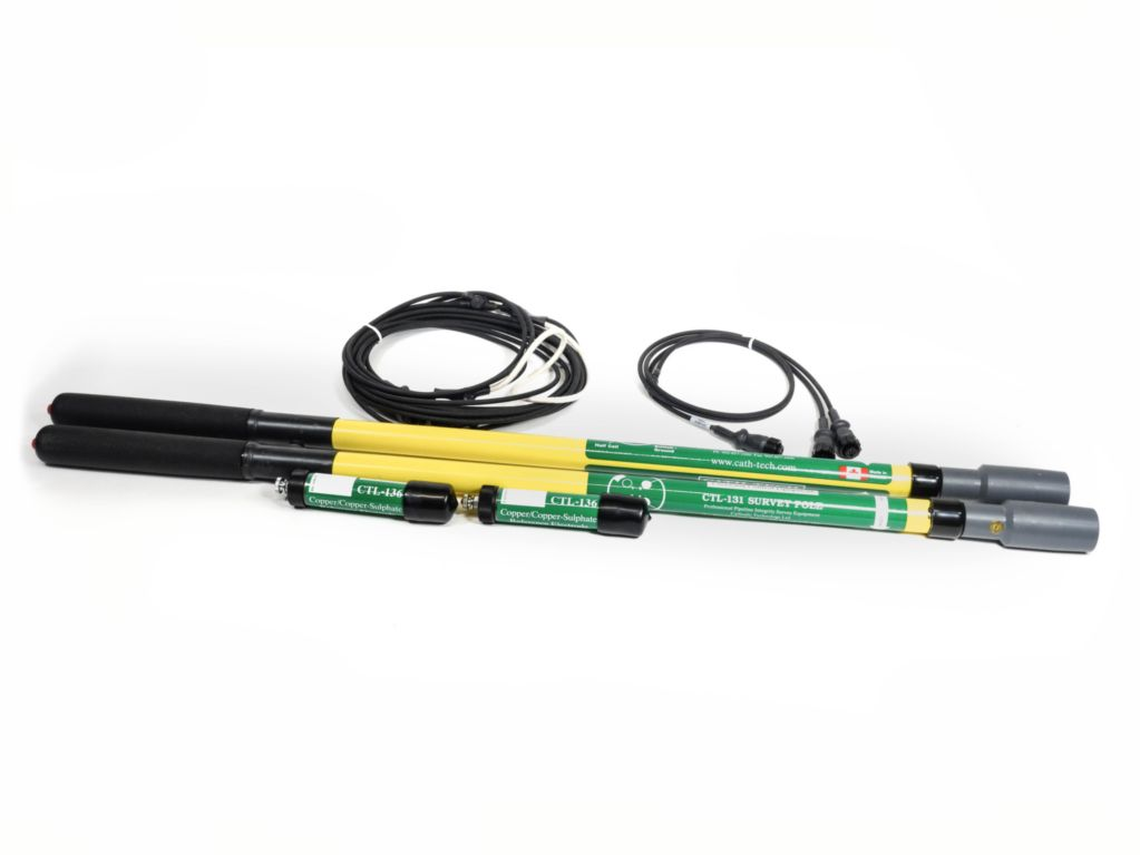 4 pole upgrade kit (2 poles, pair Y cables, 2 1/2 cells)