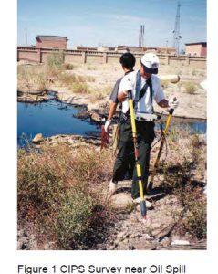 CIPS Survey near oil spill