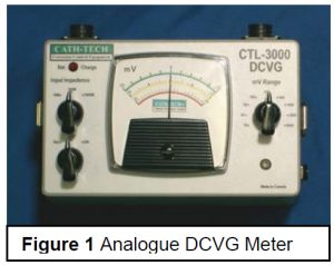 Analogue DCVG Meter